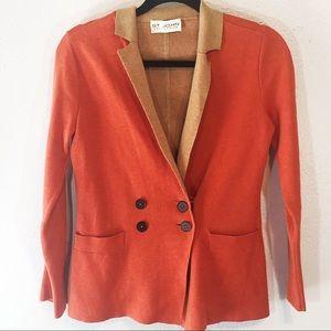 St John Collection blazer sweater cotton blend